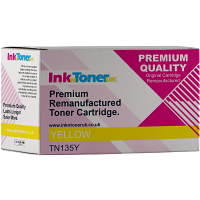 Premium Remanufactured Brother TN-135Y Yellow High Capacity Toner Cartridge (TN135Y)