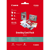 Original Canon 170gsm A6 Greeting Card Photo Paper Pack - 10 Sheets (0775B077)