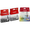 Original Canon PGI-5BK / CLI-8 C, M, Y, K Multipack Ink Cartridges (0621B029 / 0628B001 / 0620B001)