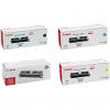 Original Canon 701 CMYK Multipack High Capacity Toner Cartridges (9287A003/ 9286A003/ 9285A003/ 9284A003)