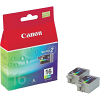 Original Canon BCI-16 Colour Twin Pack Ink Cartridges (9818A002)