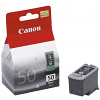 Original Canon PG-50 Black High Capacity Ink Cartridge (0616B001)