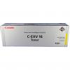 Original Canon C-EXV16 Yellow Toner Cartridge (1066B002AA)