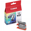 Original Canon BCI-15BK Black Twin Pack Ink Cartridges (8190A002)