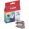 Original Canon BCI-15C Colour Twin Pack Ink Cartridges (8191A002)