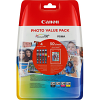 Original Canon CLI-526 CMYK Multipack Ink Cartridges & Paper (4540B017)