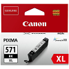 Original Canon CLI-571BKXL Black High Capacity Ink Cartridge (0331C001)