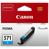 Original Canon CLI-571C Cyan Ink Cartridge (0386C001)