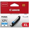 Original Canon CLI-571CXL Cyan High Capacity Ink Cartridge (0332C001)
