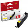 Original Canon CLI-571YXL Yellow High Capacity Ink Cartridge (0334C001)