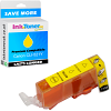 Premium Compatible Canon CLI-521Y Yellow Ink Cartridge (2936B001)