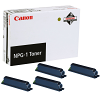 Original Canon NPG-1 Black 4 Pack Toner Cartridges (1372A005AA)