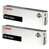 Original Canon NPG-9 Black Twin Pack Toner Cartridges (1379A003AA)