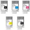 Original Canon PFI-107 Multipack Set Of 5 Ink Cartridges (PFI-107MBK/BK/C/M/Y)