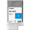 Original Canon PFI-107C Cyan Ink Cartridge (6706B001AA)