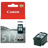 Original Canon PG-512 Black High Capacity Ink Cartridge (2969B001)