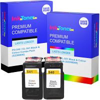 Premium Remanufactured Canon PG-540 / CL-541 Black & Colour Combo Pack Ink Cartridges (5225B006)