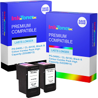 Premium Remanufactured Canon PG-540XL / CL-541XL Black & Colour Combo Pack High Capacity Ink Cartridges (5222B013)