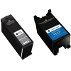 Original Dell X753N / X752N Black & Colour Combo Pack High Capacity Ink Cartridges (592-11311 & 592-11313)