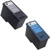 Original Dell Series 11 Black & Colour Combo Pack High Capacity Ink Cartridges (592-10275 & 592-10276)