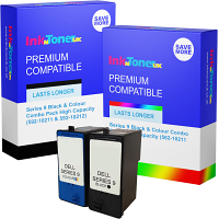 Compatible Dell Series 9 Black & Colour Combo Pack High Capacity Ink Cartridges