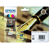 Original Epson 16 CMYK Multipack Ink Cartridges (C13T16264012)