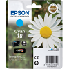 Original Epson 18 Cyan Ink Cartridge (C13T18024010)