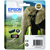 Original Epson 24 Light Cyan Ink Cartridge (C13T24254010)