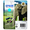 Original Epson 24XL Cyan High Capacity Ink Cartridge (C13T24324010)