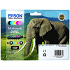 Original Epson 24XL C, M, Y, K, LC, LM Multipack High Capacity Ink Cartridges (C13T24384010)