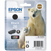 Original Epson 26 Black Ink Cartridge (C13T26014010)