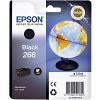 Original Epson 266 Black Ink Cartridge (C13T26614010)