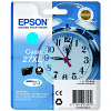 Original Epson 27XL Cyan High Capacity Ink Cartridge (C13T27124010)