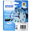Original Epson 27XL Cyan Magenta Yellow Pack High Capacity Ink Cartridges (C13T27154010)