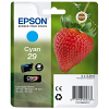 Original Epson 29 Cyan Ink Cartridge (C13T29824010)