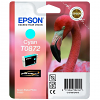 Original Epson T0872 Cyan Ink Cartridge (C13T08724010)