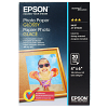 Original Epson S042546 200gsm A6 Photo Paper - 20 Sheets (C13S042546)