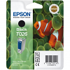 Original Epson T026 Black Ink Cartridge (C13T02640110)