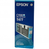 Original Epson T477 Cyan Ink Cartridge (C13T477011)