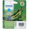 Original Epson T0332 Cyan Ink Cartridge (C13T03324010)