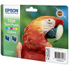 Original Epson T008 Colour Twin Pack Ink Cartridges (C13T00840310)