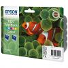 Original Epson T027 Colour Twin Pack Ink Cartridges (C13T02740310)