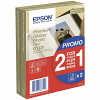 Original Epson S042167 255gsm A6 Twin Pack Photo Paper - 2x 40 Sheets (C13S042167)