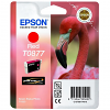 Original Epson T0877 Red Ink Cartridge (C13T08774010)
