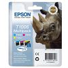 Original Epson T1006 Cyan Magenta Yellow Pack High Capacity Ink Cartridges (C13T10064010)