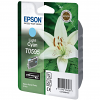 Original Epson T0595 Light Cyan Ink Cartridge (C13T05954010)