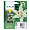 Original Epson T0594 Yellow Ink Cartridge (C13T05944010)