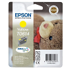 Original Epson T0614 Yellow Ink Cartridge (C13T06144010)