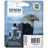 Original Epson T007 Black Twin Pack Ink Cartridges (C13T00740210)