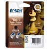 Original Epson T051 Black Twin Pack Ink Cartridges (C13T05114210)